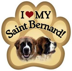 St Bernard Wall Art Saint Bernard Wood Dog Sign Wall