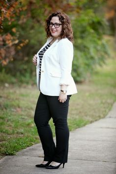 Wardrobe Oxygen: What I Wore: Smart Slacks featuring @Dobbin Clothing @Vince Camuto @Ann Taylor