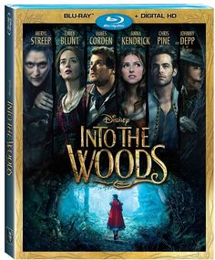 Disney Into The Woods DVD Review | In Stores March 24 #IntoTheWoods SavingSaidSimply.com (sponsored)