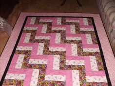 Breast cancer quilt for my friend!