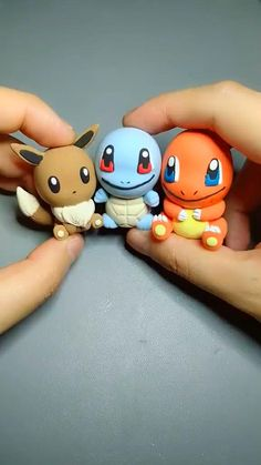 Pokemon, Pikachu, Creative Food Art, Pasta Flexible, Polymer Clay Projects, Craft Videos, Silicone Molds, Diy Crafts, Cute