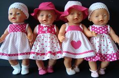 Help With Toddler Separation Anxiety Baby Born Clothes, Bitty Baby Clothes, Knitting Dolls Clothes, Sewing Doll Clothes, Crochet Doll Clothes, Girl Doll Clothes, Barbie Clothes, Girl Dolls, Best Baby Doll
