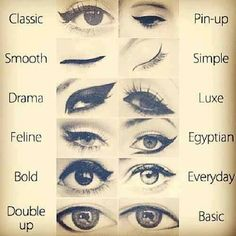 #different #eyes #makeup #eyeliner