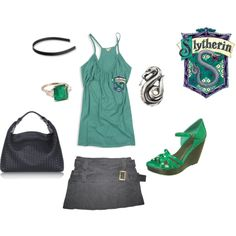 """Sexy Slytherin"" by ravena on Polyvore"