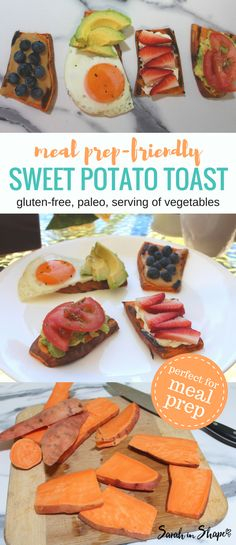 Looking for an easy alternative to bread that you can meal prep for the week? Try this paleo, gluten-free sweet potato toast!