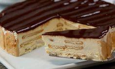 SEMI FRIO DE BOLACHA MARIA E CHOCOLATE – Sobremesas de Portugal