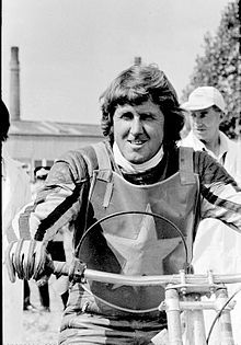 Barry Briggs MBE (born 30 December 1934) from Christchurch, New Zealand is a former Speedway rider. He won the World Individual Championship title four times - in 1957, 1958, 1964 and 1966.[1] He appeared in a record 17 consecutive World Individual finals (1954–70), and a record 18 in all, during which he scored a record 201 points. He also won the London Riders' Championship in 1955 whilst riding for the Wimbledon Dons.[