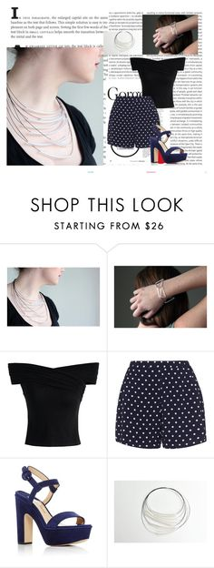 """Zdrop1"" by gold-phoenix ❤ liked on Polyvore featuring Oris, Chicwish, Zizzi and Paul Andrew"