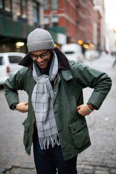 coat season // menswear, mens fashion, style, field jacket, beanie, scarf, fall, winter