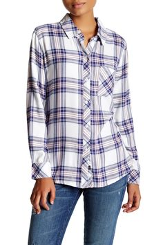 Hunter Plaid Shirt by Rails on @nordstrom_rack