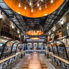 The Forks Market Food Hall: Location: Winnipeg, Canada Year of Construction: 2016 Architects: Number TEN Architectural GroupThe Forks Market is the hub of Winnipeg's urban social life, a place where people from all over the city gather to relax and share with their friends and loved ones. As time went by, the users changed but the space remained the same, thus it was decided the food court portion of the market - where most social interactions take place- was in need for a renovation…