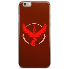 Pokemon Go Team Instinct/Team Mystic/Team Valor iPhone 6/6+/6s/6s+... (57 BRL) ❤ liked on Polyvore featuring accessories, tech accessories, phone cases and valor