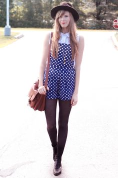 Steffys Pros and Cons: polka dotted overalls + vermont ?