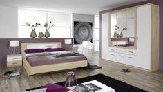 Schlafzimmer Komplett Saragossa Hochglanz SchwarzWeiss | Pinterest |  Schlafzimmer Und Möbel