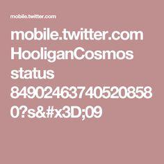 mobile.twitter.com HooliganCosmos status 849024637405208580?s=09