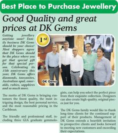 DK Gems has been VOTED BEST jewelry stores in st maarten by the Daily Herald. So for your next jewelry such as rings, earrings, bracelet, pendant, necklace, ladies watches or mens watches come to visit us DK Gems. DK Gems VOTED BEST st maarten jewelry stores, 69 A Front street, Philipsburg, Sint Maarten.