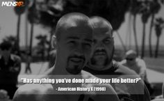 The article talks about 25 heartfelt movie dialogues from various epic Hollywood films that will teach you how life is actually very simple. Best Movie Dialogues, American History X, Film Quotes, Celebrity Photos, Good Movies, Hollywood, Entertaining, Teaching, Simple