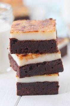 Créme Bruleé Brownies Pic