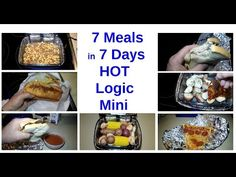 7 Meals in 7 Days with Hot Logic Mini Personal Portable Oven Lunch Box Recipes, Oven Recipes, Cooker Recipes, Truck Living, Portable Stove, Truck Drivers, Coconut Chicken, Cooking Stuff, Mini Foods