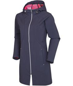 Sunice Poppy rain jacket.