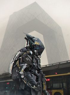 Futuristic Art Concepts by Minovo Wang | Abduzeedo Design Inspiration