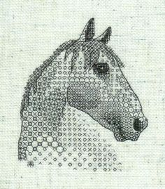 Blackwork Embroidery Kits - Blackwork Embroidery, Hand Embroidery ...