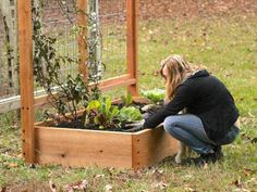 3 Oversized Planters You Can Make From Upcycled Items | HGTV Cheap Raised Garden Beds, Raised Bed Garden Design, Raised Flower Beds, Building A Raised Garden, Raised Beds, Raised Gardens, Climbing Flowers, Prairie Garden, Sloped Garden