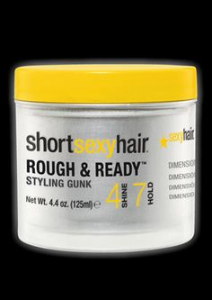 """""""Great for giving short hair a roughed up/messy look"""""""