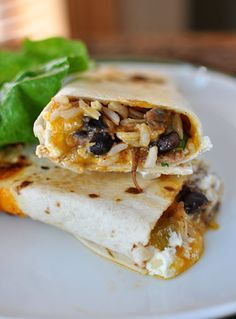 Crispy Southwest Chicken Wraps | Mel's Kitchen Cafe - tried this, it was really good (with salsa and sour cream) - Whit