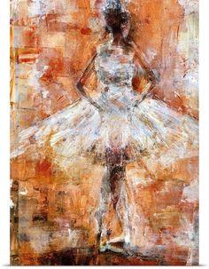 Textured Ballet Dancer III