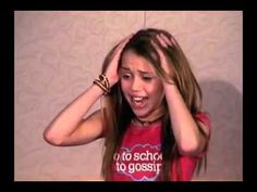 Miley Cyrus's Audition tape for Hannah Montana. She's so little!