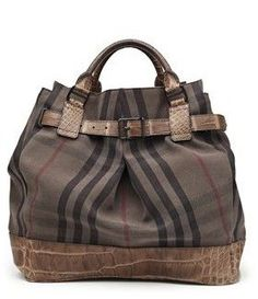 Another Burberry bag!
