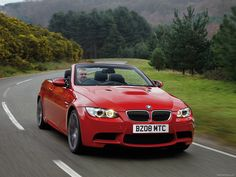 Would like to own convertible BMW - Red of course