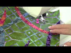 Husqvarna Viking Circular Attachment - YouTube  Great attachment video and creative uses with quilting squares too