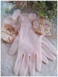 Flower gloves