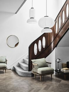 Lekker Home modern furniture and decor. Wide assortment of modern classics and independent design online or visit our showroom in Boston's South End. Interior Stairs, Home Interior, Interior Architecture, Interior And Exterior, Interior Design, Space Copenhagen, Staircase Design, Danish Design, Stairways