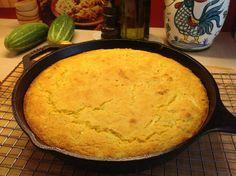 Zucchini Skillet Corn Bread