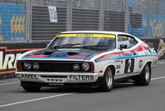 XC Falcon coupe that Colin Bond and Allan Hamilton drove to second place at Bathurst 1977.