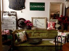 Interior, Eclectic, Gallery Wall, Wall, Home Decor, Individual Space, Shop Interiors, Frame, Cloakroom