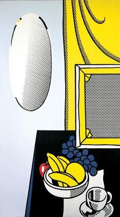 Roy Lichtenstein - Still Life with Mirror, 1972.