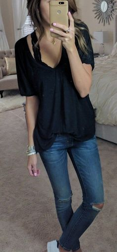 50 Casual And Simple Spring Outfits Ideas 12