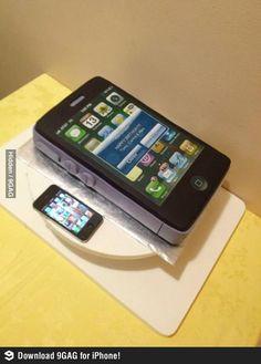 Torta iPhone de Cumpleaños!