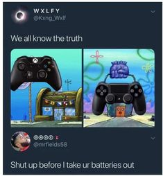 I'm kinda in the middle when it comes to the whole Xbox and PS argument