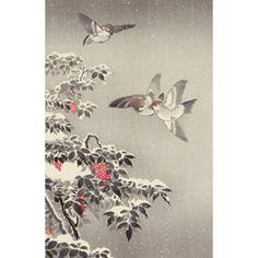 土屋光逸 (風光礼讃) - 雀 (1940)