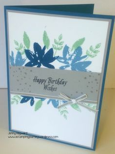 Stampin' Up! Avant Garden. Get this as one of your Free choices for Sale-A-Bration.