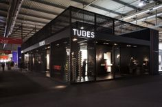 The #TUBES stand at Salone Internazionale del #Bagno - Salone Internazionale del Mobile 2014