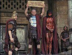 El momento en el que Poncio Pilatos grita a los judíos:  ¡Ecce Homo! (Aquí tienen al hombre)