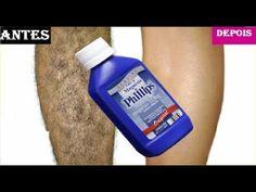 Pare de se depilar! Use Leite de magnésia para remover pelos para sempre!!Depilação Clareadora! - YouTube