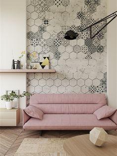 Mosaic | Designer Murals | Accent Wallpaper | Choose your favorite design from our Accent Wallpaper Collections www.accentwall.eu #mural #wallpapermural #tiles #designerwallpaper #accentwall