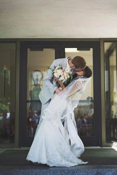 12 Breathtaking Wedding Kiss Photos ❤ Check out our collection of what we consider some of the most creative wedding kiss photos. See more: http://www.weddingforward.com/wedding-kiss-photos/ #weddings #photography